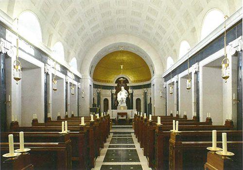 McKeon Kilkenny Blue Limestone Features in an Award-Winning Oratory