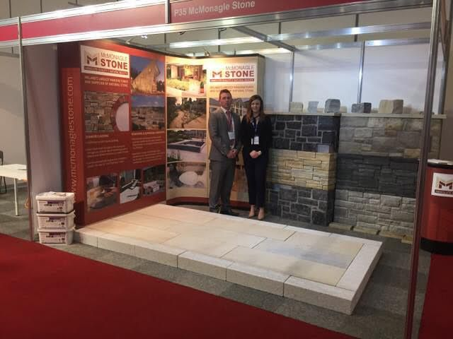 McKeon Stone Attends the Natural Stone Show London