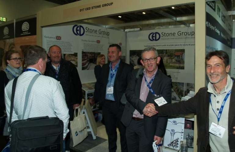 McKeon Stone Attends the Natural Stone Show London 2017