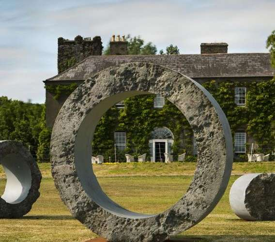 McKeon Stone Supports Irish Sculpture at Ballymaloe House