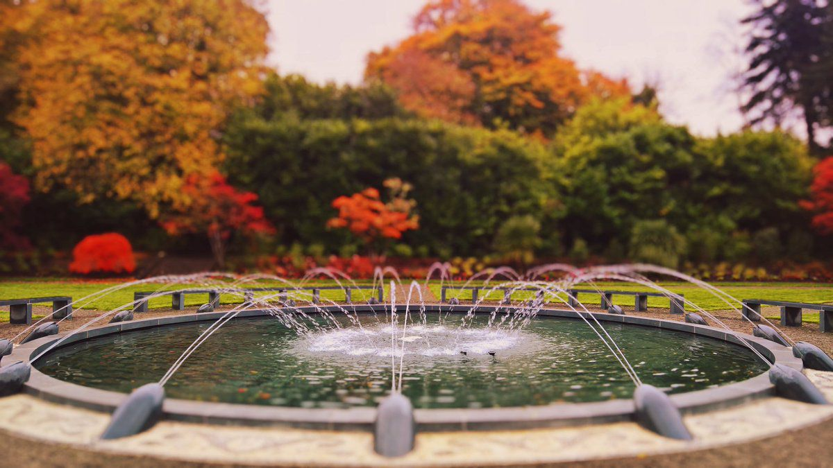 A Beautiful Limestone Fountain in a Famous Garden