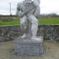 01 Tribute to THREECASTLES All Ireland hurlers