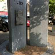 02 Brid Ni Rinn - 1798 memorial at Emily Square in Athy