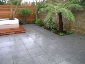 02 Flamed paving