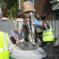 03 Unveiling of Richard Harris statue in Limerick city centre