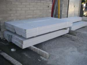 04 Stock of Limestone Kerbing