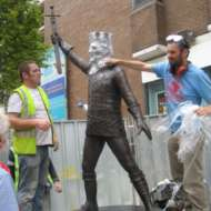 04 Unveiling of Richard Harris statue in Limerick city centre