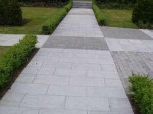 05 Sanded and Flamed paving - Garden in Kileen Castle