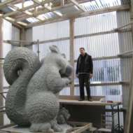 06 Squirrel Quarrel - Irish cut limestone in Co Cork