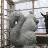 07 Squirrel Quarrel - Irish cut limestone in Co Cork