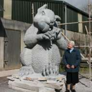08 Squirrel Quarrel - Irish cut limestone in Co Cork