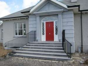 18 Door surround and steps for private house in Kildare