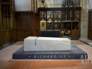 33 McKeon Stone supplies stone for Richard III monument in Leicester Cathedral, UK