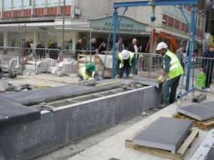 46 Installing benches in Sheffield