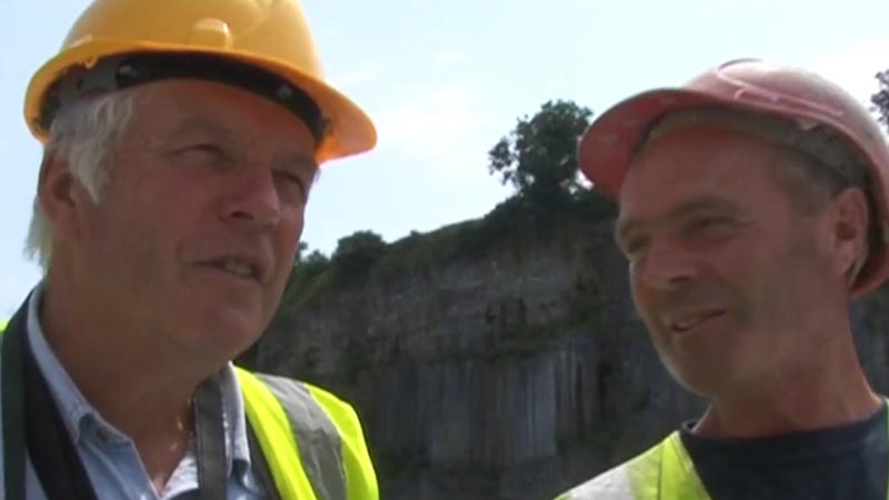 Interview with Peter Dowling, Threecastles Limestone Quarry Manager