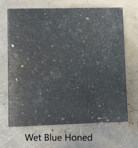 Blue honed wet