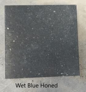Blue honed wet