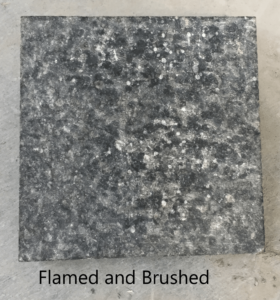 Flamed & Brushed