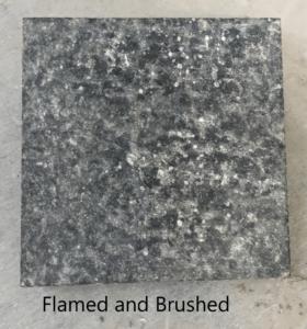 Flamed & Brushed