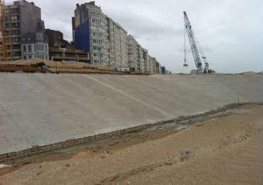 Ostend Seawall Defense – Splitstone for Seawall
