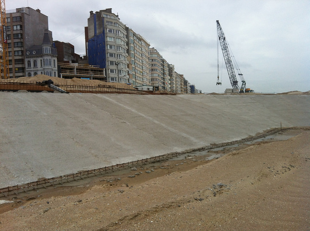 Ostend Seawall Defense – Splitstone for Seawall
