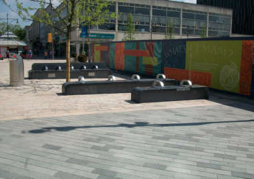 Sheffield Benches , UK