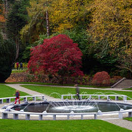 Limestone Fountain – Ashford Castle