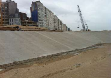 Ostend Seawall Defense, Belgium